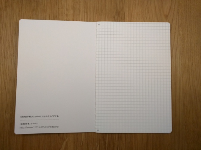 Hobonichi notebook