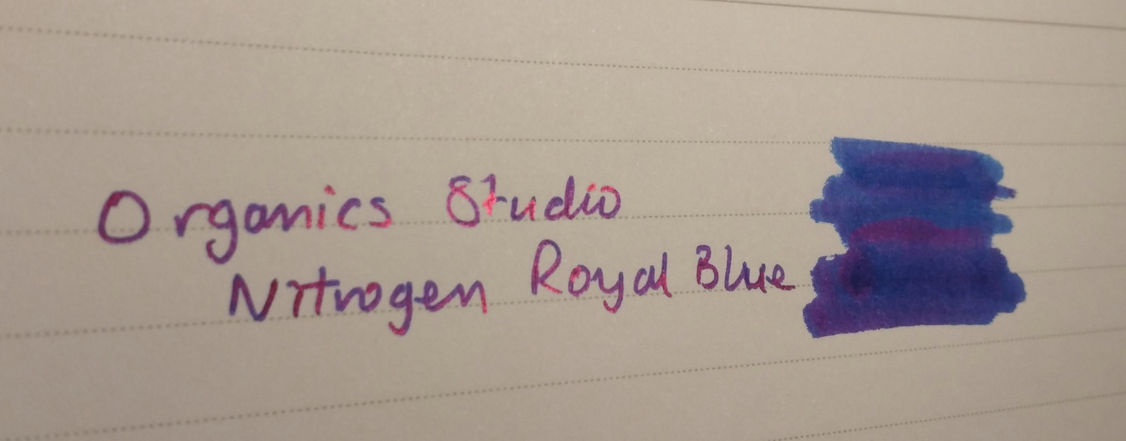 Nitrogen Royal Blue sheen