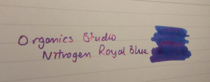Nitrogen Royal Blue sheen