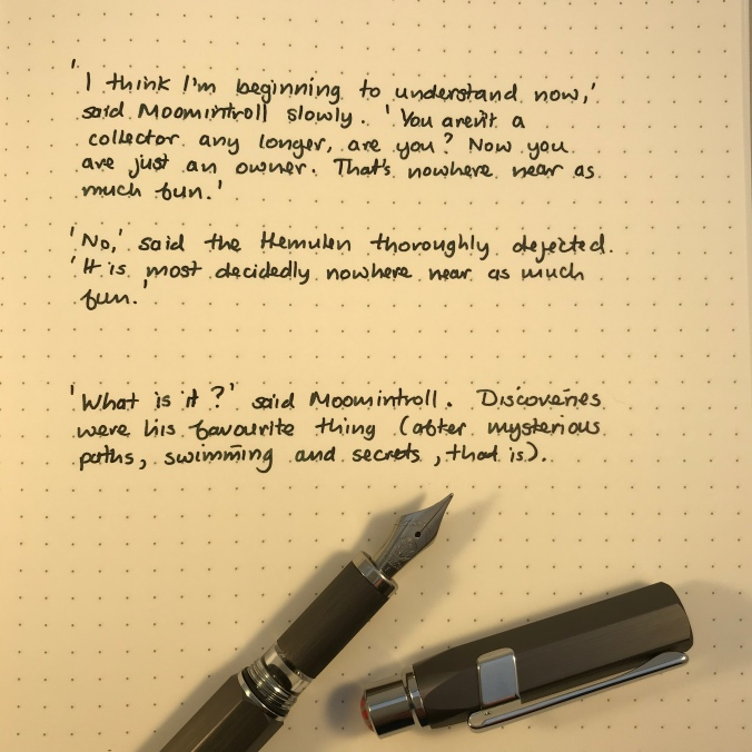 TWSBI Precision writing sample