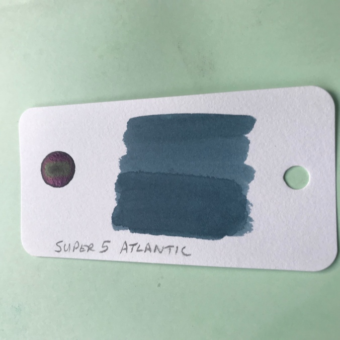 Super 5 Atlantic ink swab