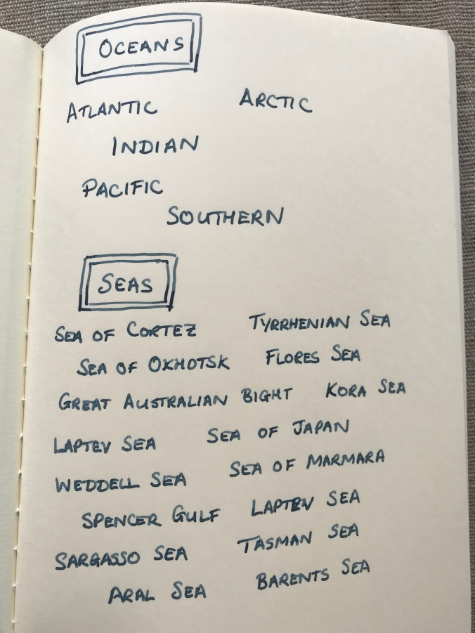 Super 5 Atlantic writing sample