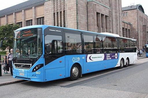A Helsinki bus