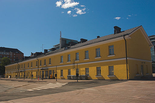 Old Helsinki main bus terminal