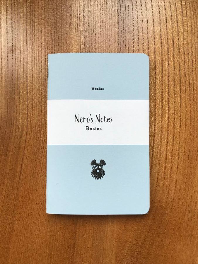 Front cover of Nero's Notes Basics notebook
